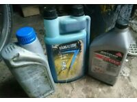 3l semi synthetic 2 stroke outboard oil