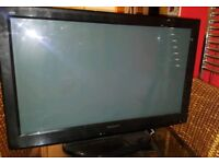 """37"""" Panasonic Viera TV WITH FREEVIEW Remote control f"""