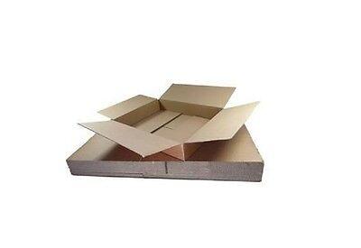 10 x MAX SIZE ROYAL MAIL SMALL PARCEL PACKET POSTAL BOX - 419mm x 338mm x 72mm