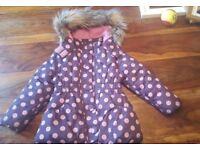 Girls winter coat 3 years