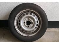Nissan Micra K11 spare wheel
