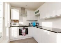 Modern 2 bed spacious property. ROOF TERRACE, wooden flooring and fire place. short walk to tube