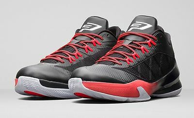 hot sale online 2d85b 5f4a1 NIKE JORDAN CP3 VIII 684855 023 BLACK WHITE   RED MEN S SHOES SIZE 15