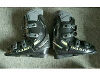 For sale is a pair of the Salomon Evolution 5.0 ski boots.
