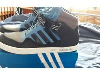 New Adidas high top trainers size 10