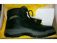 Caterpillar safety boots