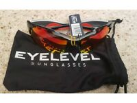 Eyelevel sunglasses brand new in packaging. 3 different styles sa5 4rz