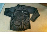 Mens Soft shell Windroof winter jacket Large