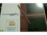 Nintendo DSi XL 50 games mario, pokemon ds