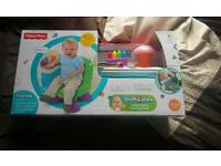 Brand new..fisher price..song &story learning chair