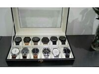 12 new watches to sell + box