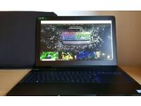 Razer Blade Pro GTX 1060 with gaming mouse