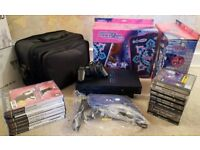 PS2 WITH GAMES & ACCESSORIES