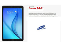 "9.6"" Samsung Galaxy Tab E Android Tablet - Black- New in Box"