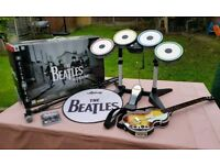 Beatles 'Rock the World' Rockband Complete Package PS3 Playstation3