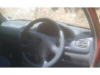 2001, Nissan Micra, very cheap with cheap insurance and low mileage (only 65,000) with 10 months MOT
