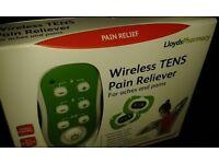 Wireless TENS Pain Reliever (Lloyds pharmacy) Brand New