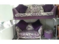 BRAND NEW EX DISPLAY DFS SOFA SET DELIVERY FREEE