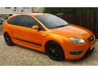 focus st-2 electric orange 56 reg,mat p/x car/bike/van