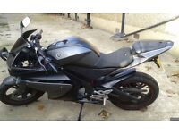 Yamaha yzf r 125 low mileage