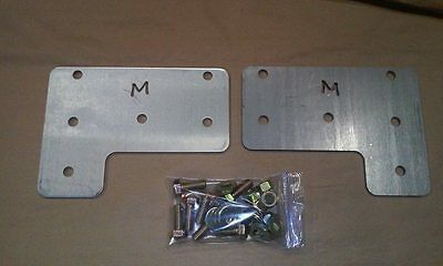 11-16 ford superduty front end conversion bumper bracket plates f250 f350 f450  Front End Bumper Plate
