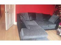 black and gray corner sofa for swaps