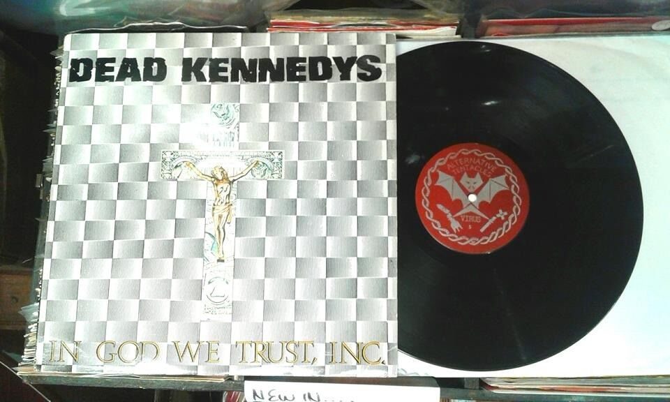 Dead Kennedys ‎– In God We Trust, Inc., VG, released ‎in 1981, Punk Oi Alternative