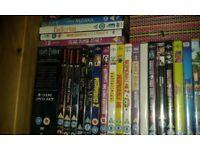 163 dvds, barbie, disney, harry potter plus lots of little girls films