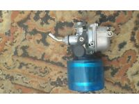 110 pit bike carb and water proof air filter