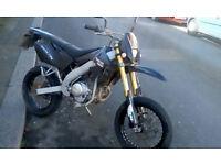 Motorhispania Duna 125cc Has a Yamaha engine 4 stroke 2010