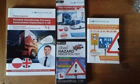 Dwujęzyczne materiały szkoleniowe na prawo jazdy kat. C samochody ciężarowe w UK