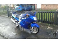 1999 V reg Honda cbr1100xx superblackbird injection for sale