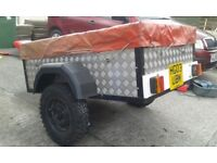 Trailer and camping gear