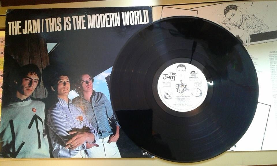 The Jam – This Is The Modern World, VG, first pressing with inner sleeve, released in 1977, Mods