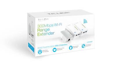TP-Link TL-WPA4220NET AV500 300Mbps Wi-Fi Powerline Range Extender Kit