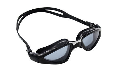 CRG Black UV Protection Anti Fog Adult Adjustable Swimming Swim Goggles (Swim Goggles Fog)