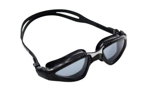 CRG Black UV Protection Anti Fog Adult Adjustable Swimming Swim Goggles 890BS