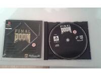 final doom playstation one game