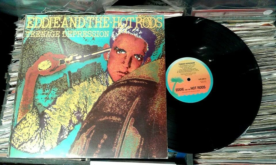 Eddie And The Hotrods – Teenage Depression, VG, original pressing released in 1976, Punk Vinyl