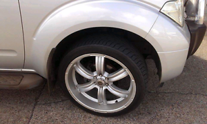 """22"""" Low Profile Rims and Tyres Thornlands Redland Area Preview"""