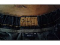 Boys jeans by Next 8yrs