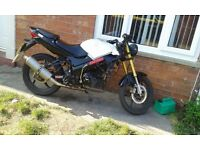 Lexmoto xtrs 125cc streetfighter
