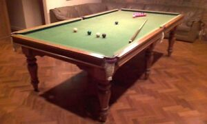 Harry Evans & sons slate pool table, billiards table Brighton East Bayside Area Preview