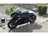 ZX6R - Exceptional condition - clear MOT - brand new Road Pilot 4 tyres