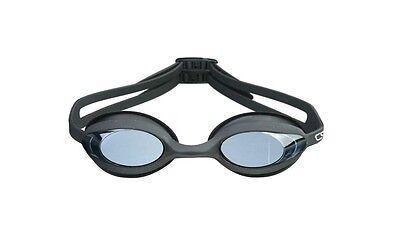 CRG Black UV Protection Anti Fog Adult Adjustable Swimming Swim Goggles Glasses