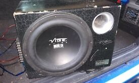 Vibe active sub and amp
