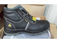 Brand new high quality mens safety boots