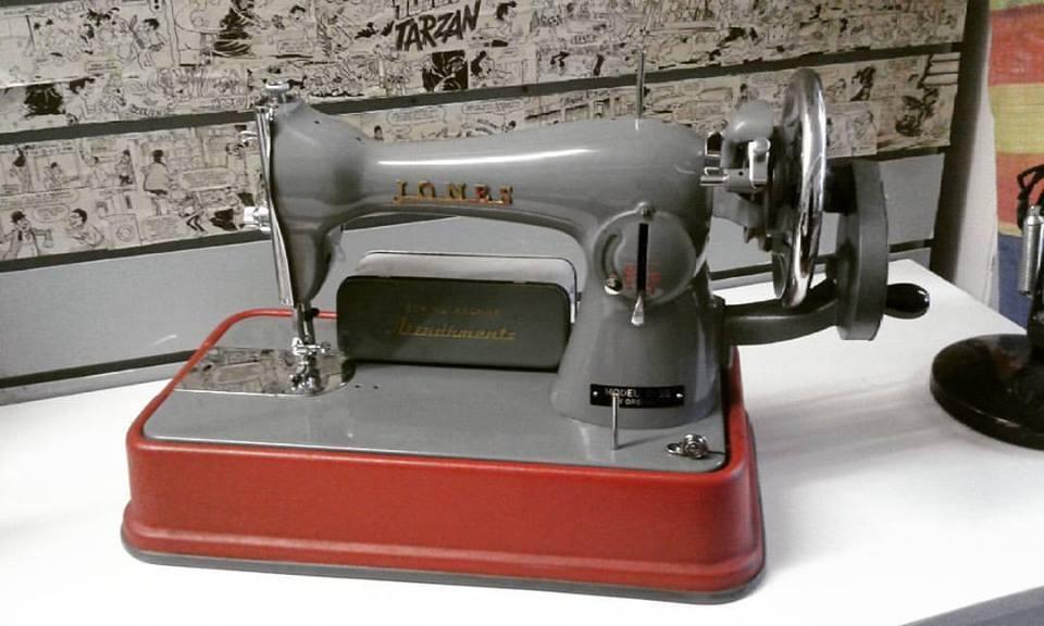 Vintage 40's Jones CB Model D 40 Sewing Machine In Leeds City Cool Jones Cb Sewing Machine
