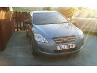 2009 Kia Ceed, Diesel, Manual, MOT'd Nov 18, £30 tax p/a, FSH