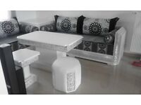 Brand New Moroccan Sofas for sale in Seven Kings 270x270cm including Corner Storage Unit